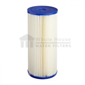 """""""unicel pleated sediment filter for big blue 10 micron 10inch"""""""