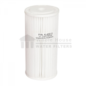 """""""Whole House pleated sediment filter for big blue 10 micron 10inch"""""""