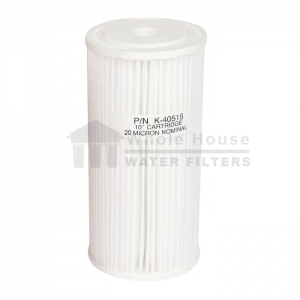 """""""Whole House pleated sediment filter for big blue 20 micron 10inch"""""""