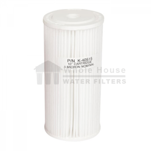 """""""Whole House pleated sediment filter for big blue 5 micron 10inch"""""""