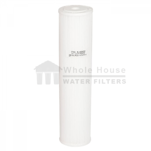 """""""pleated sediment filter for big blue 25 micron 20inch"""""""