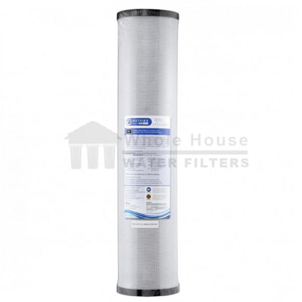 """Matrikx Whole House carbon filter for big blue 1 micron 20inch"""