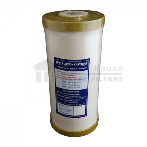 """""""Triple Action Whole House carbon filter for big blue 1 micron 10inch"""""""