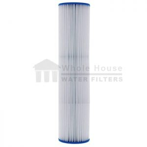 """""""unicel pleated sediment filter for big blue 50 micron 20inch"""""""